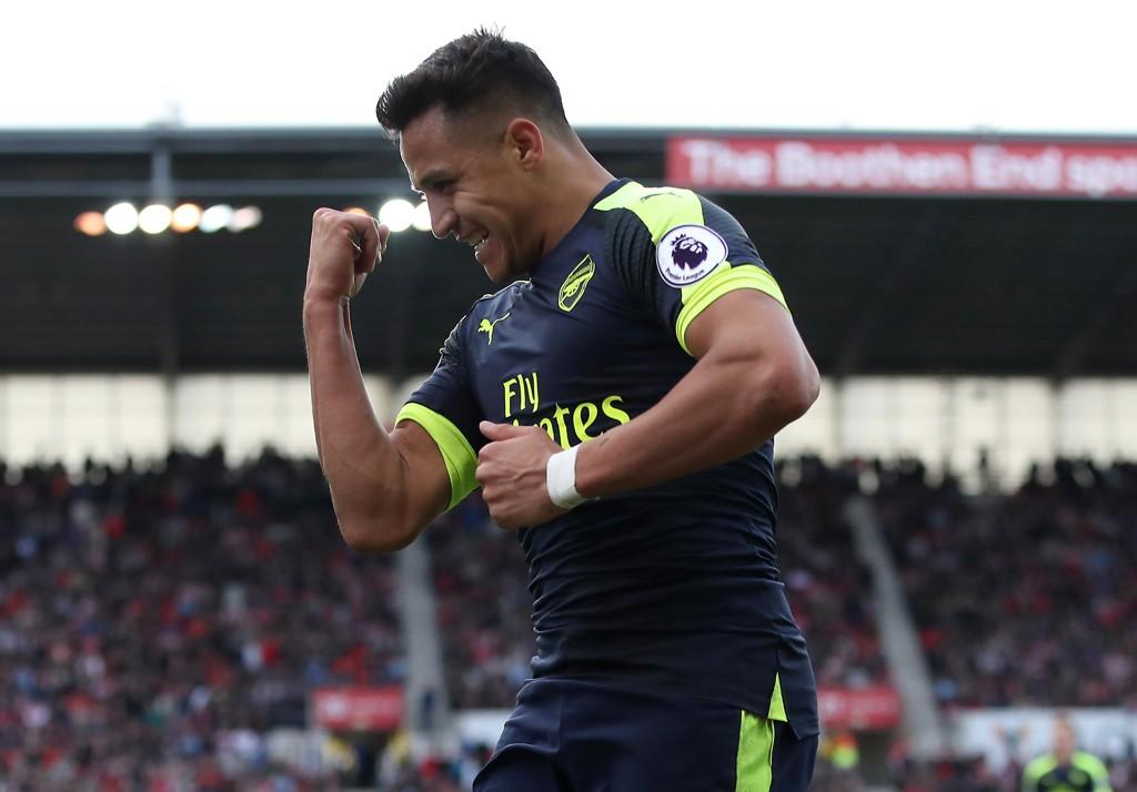 STJERNE: Alexis Sanchez er Arsenals kanskje største stjerne.