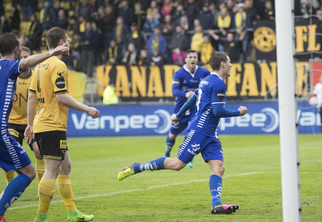 VANT: Sarpsborg 08 stakk av med seierne på Åråsen.