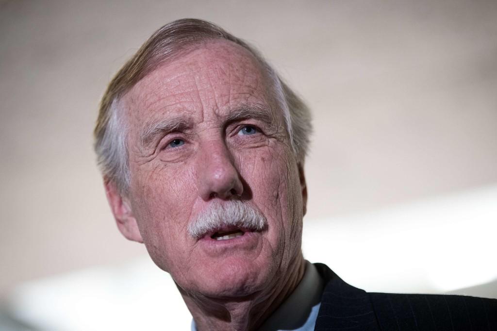 SENATOR Angus King fra Maine er medlem av Senatets etterretningskomité.