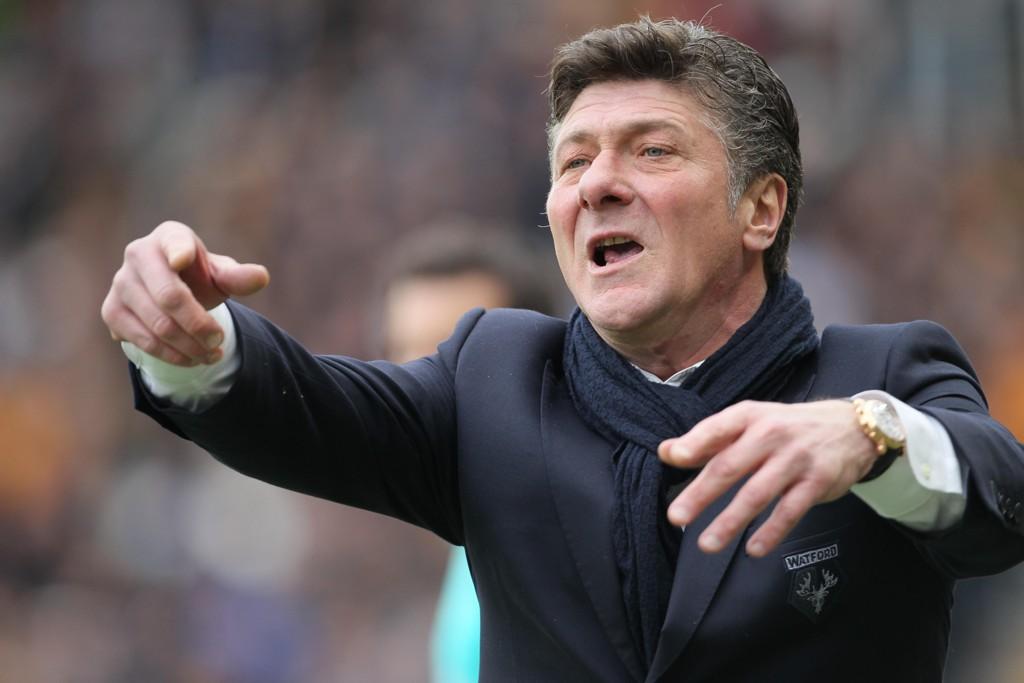 FERDIG: Walter Mazzarri er ferdig i Watford etter sesongen.