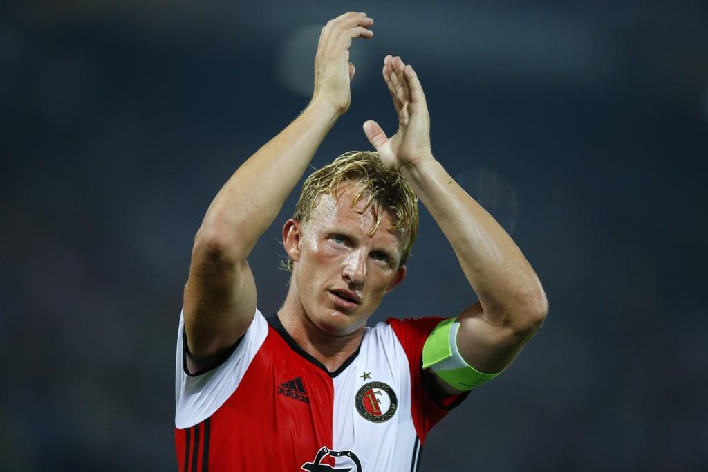 GIR SEG: Dirk Kuyt legger opp som fotballspiller.