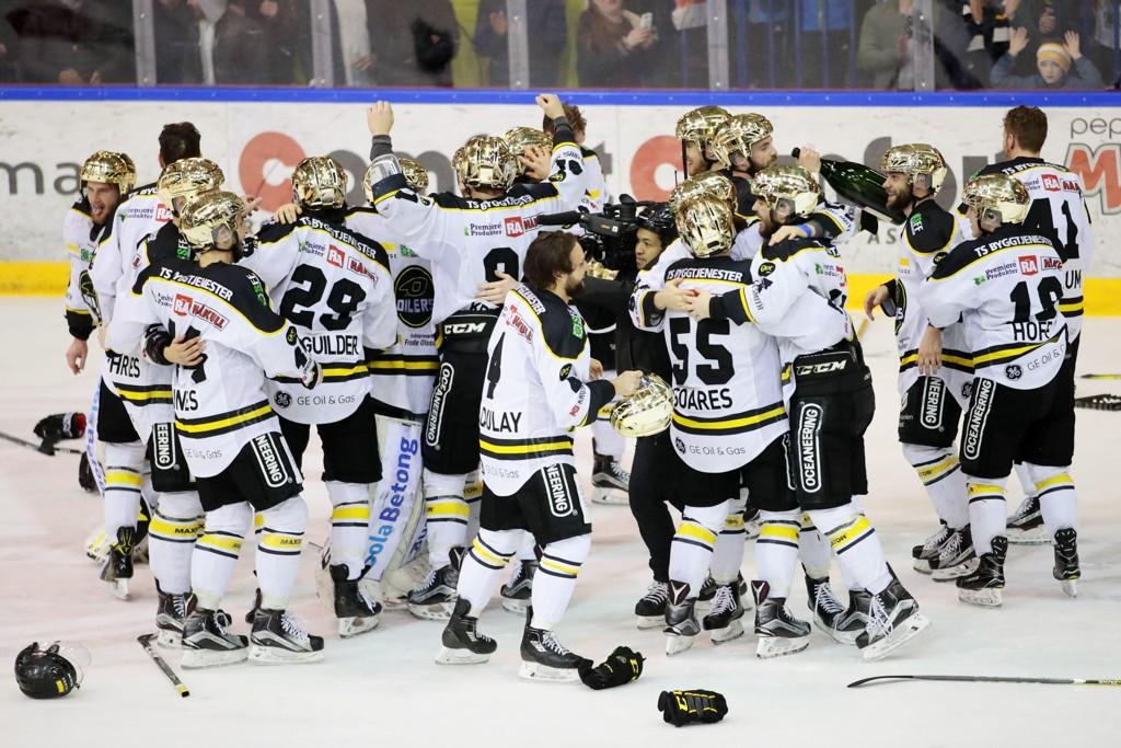 Stavanger Oilers er norgesmestre i ishockey 2017 og skal spille mesterliga kommende sesong.