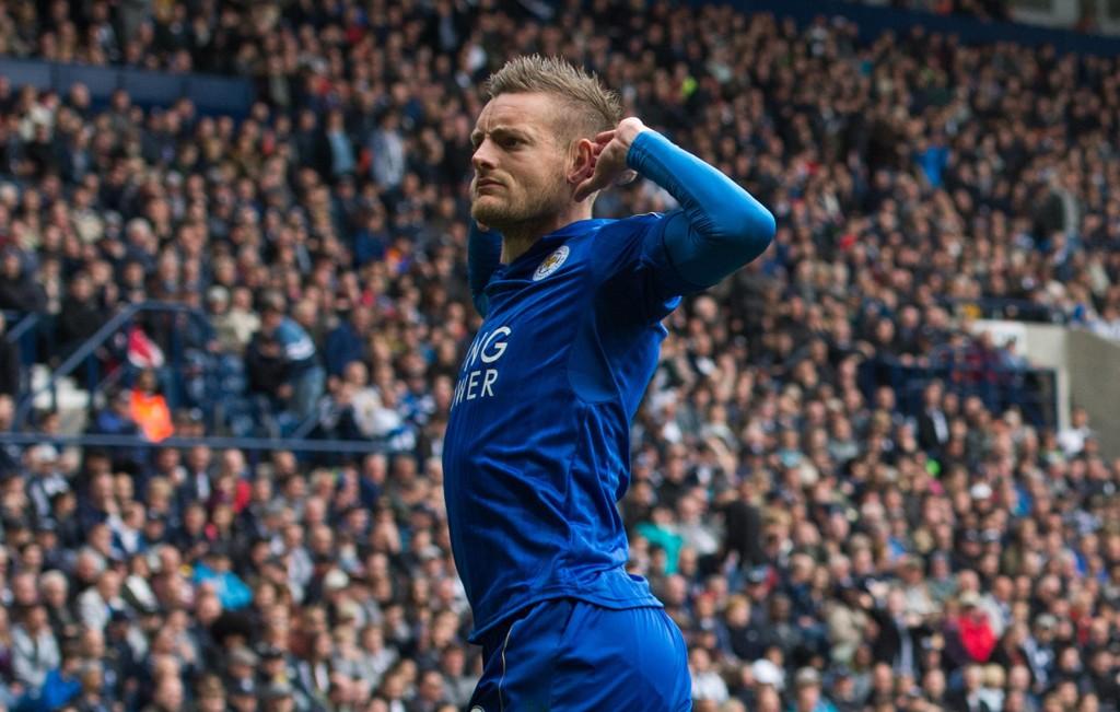 I SCORINGSFORM: Jamie vardy og Leicester er i scoringsform for tiden.