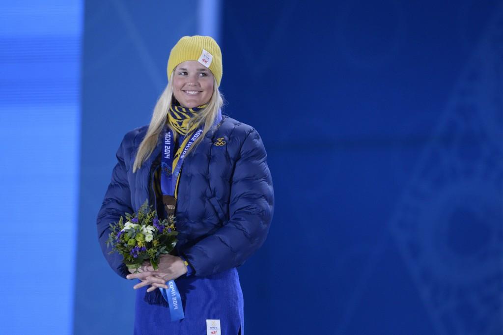 FLYTTES TIL HJEMBYEN: OL-medaljøren Anna Holmlund, har avbildet som bronsevinner u Sotsji for tre år siden.