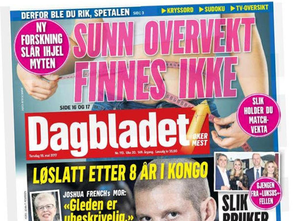 Dagbladet hadde i 2016 et godkjent opplag på 75.321, der papiropplaget utgjorde 46.250 eksemplarer, mens digitalutgaven hadde 29.017 abonnenter.