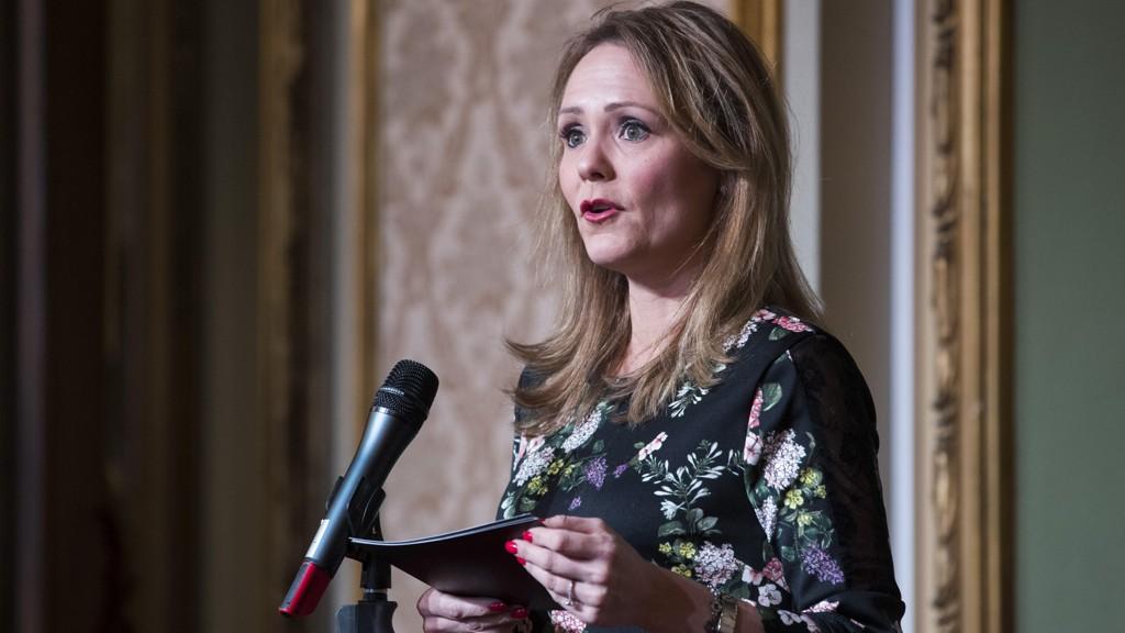VIL SAMLE MYNDIGHETENE I ANTIDOPINGKAMPEN: Kulturminister Linda Hofstad Helleland.