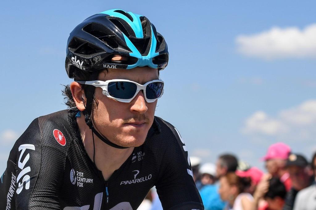 TRAKK SEG: Sky-rytteren Geraint Thomas.