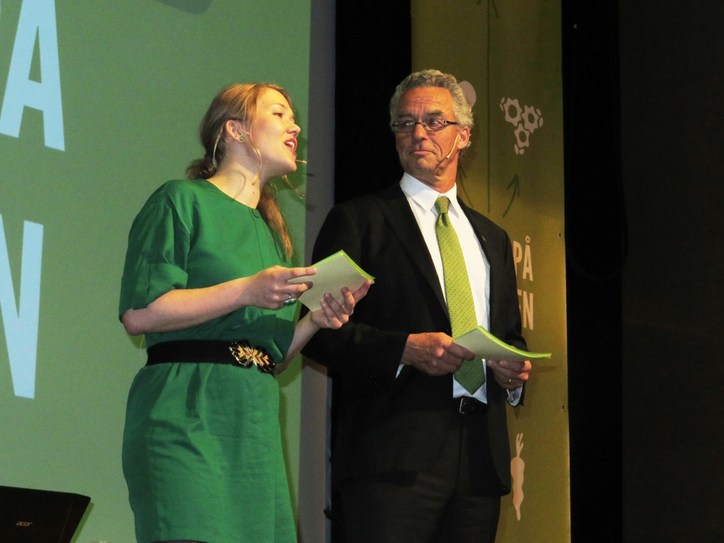 De nasjonale talspersonene Une Aina Bastholm og Rasmus Hansson holder landsmøtetale fredag.