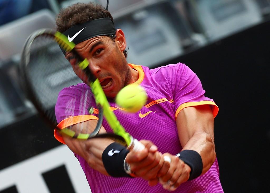 TAPTE: Rafael Nadal måtte gi tapt for Dominic Thiem i kvartfinalen i ATP-turneringen i Roma på fredag.