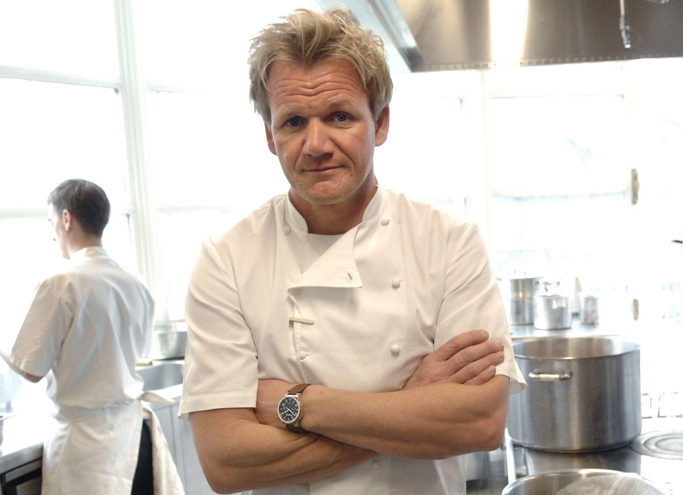 - SPØR: Gordon Ramsay ble kjent for hele verden da han dukket om som en svært temperamentsfull kokk i ulike matprogrammer på TV. Foto: Scanpix