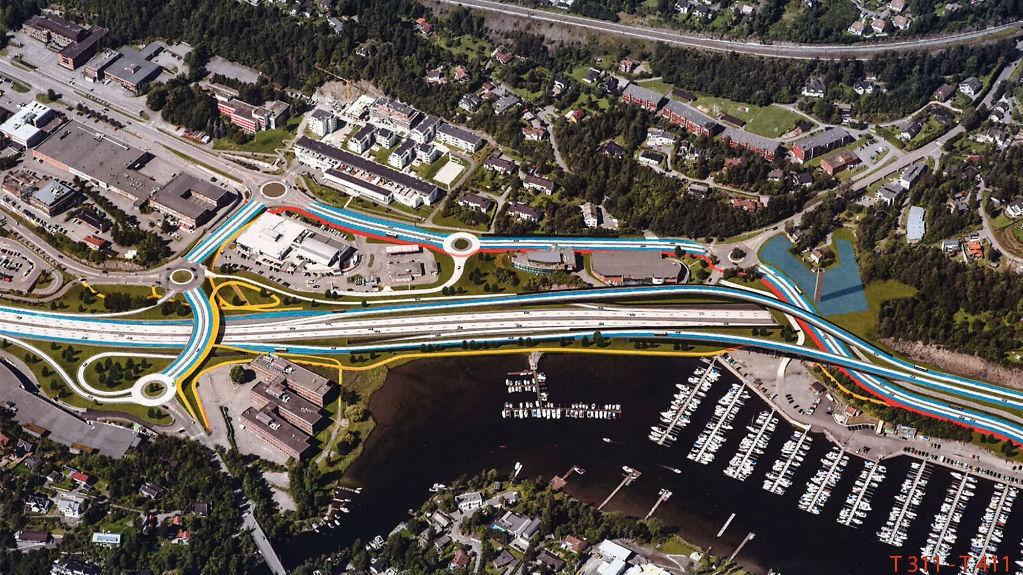 Arbeiderpartiet på Stortinget overkjører Arbeiderpartiet i Oslo, og dermed er det bred politisk støtte for raskere utbygging av E18 Vestkorridoren.