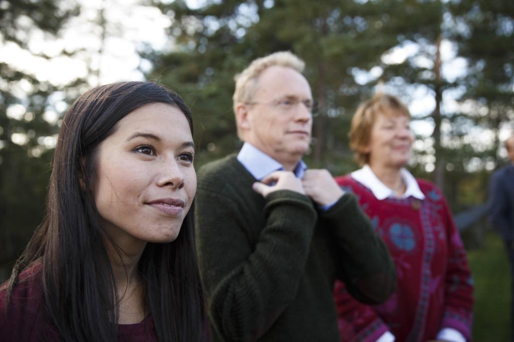 Miljø- og samferdselsbyråd Lan Marie Nguyen Berg (MDG) og byrådsleder Raymond Johansen (AP) blir overkjørt av Stortinget.