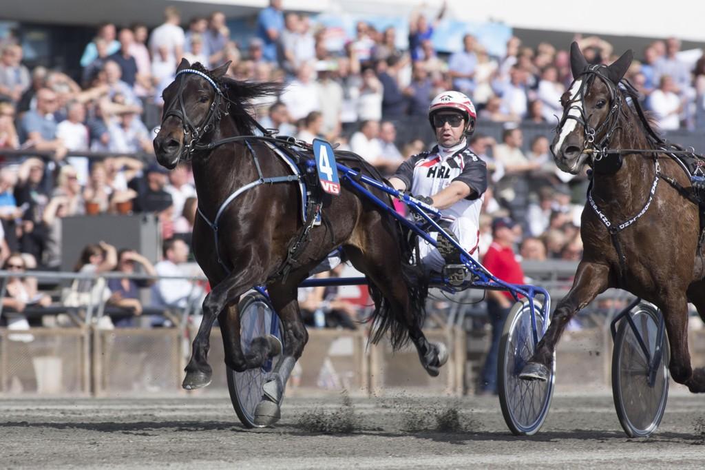Eirik Høitomt kjører vår V65-banker på fredag. foto_Roger Svalsr¿d_hesteguiden.com