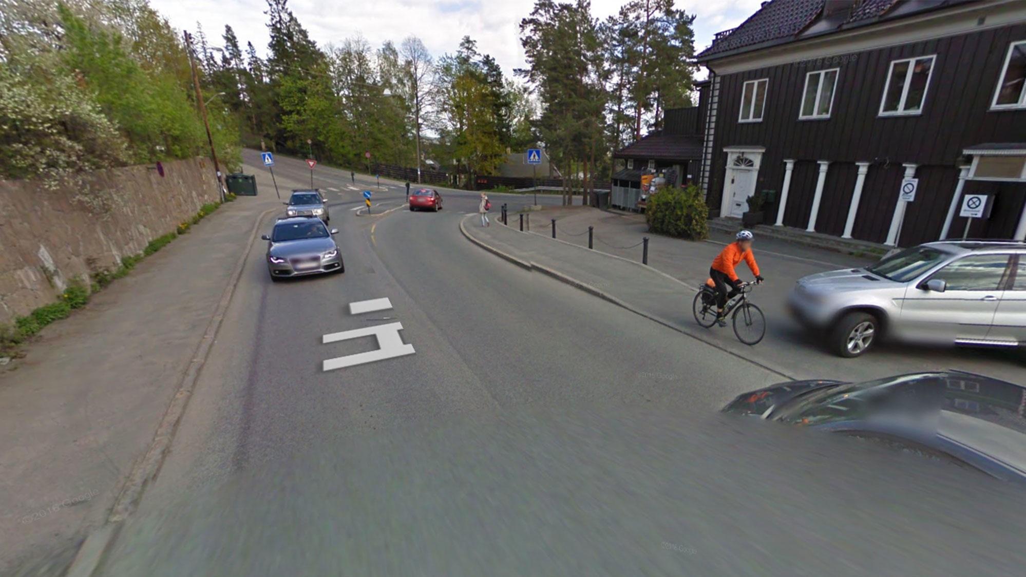 Veien opp og ned til Holmenkollen og Tryvann brukes av syklister for å sette rekorder.