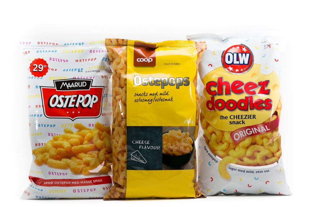Side2 har testet ostepopen til Maarud, Coop og OLW.