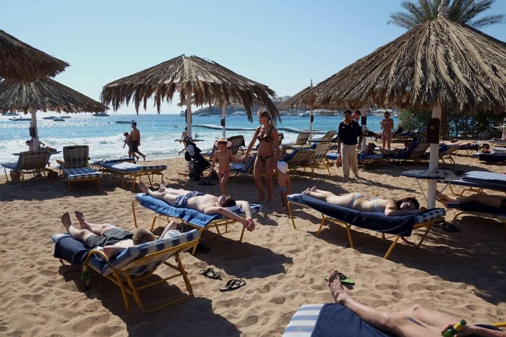 NEDGANG: Egypt har opplevd fall i turismen etter den politiske uroen i etterkant av president Hosni Mubarak ble tvunget til å gå av i 2011. Nå er det imidlertid håp om at en oppsving for turismen, og de fleste populære reisemålene, som Sharm-El-Sheikh (bildet), er regnet som trygge av UD.
