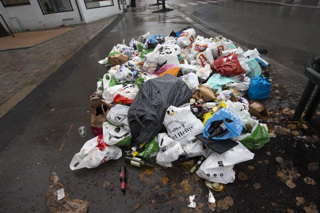 SØPPELKAOS: Kriserammede RenoNordens kunder prøver å sikre seg at avfallshåndteringen vil gå som den skal selv om selskapet skulle gå konkurs.