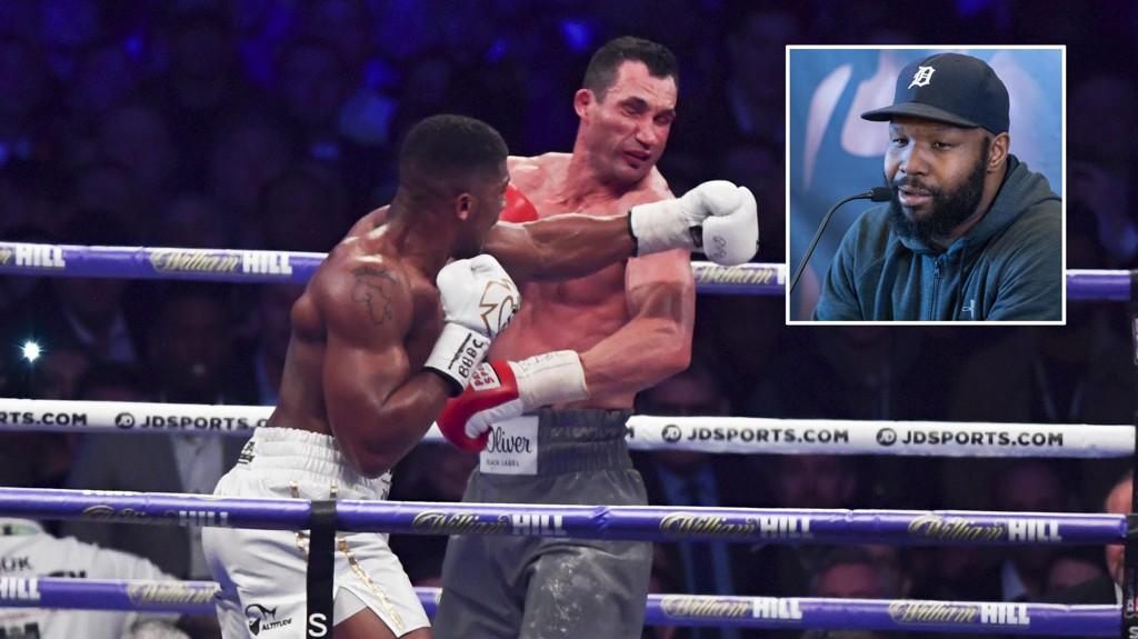 RETURKAMP? Johnathon Banks håper det blir returkamp mellom Vladimir Klitsjko og Anthony Joshua.
