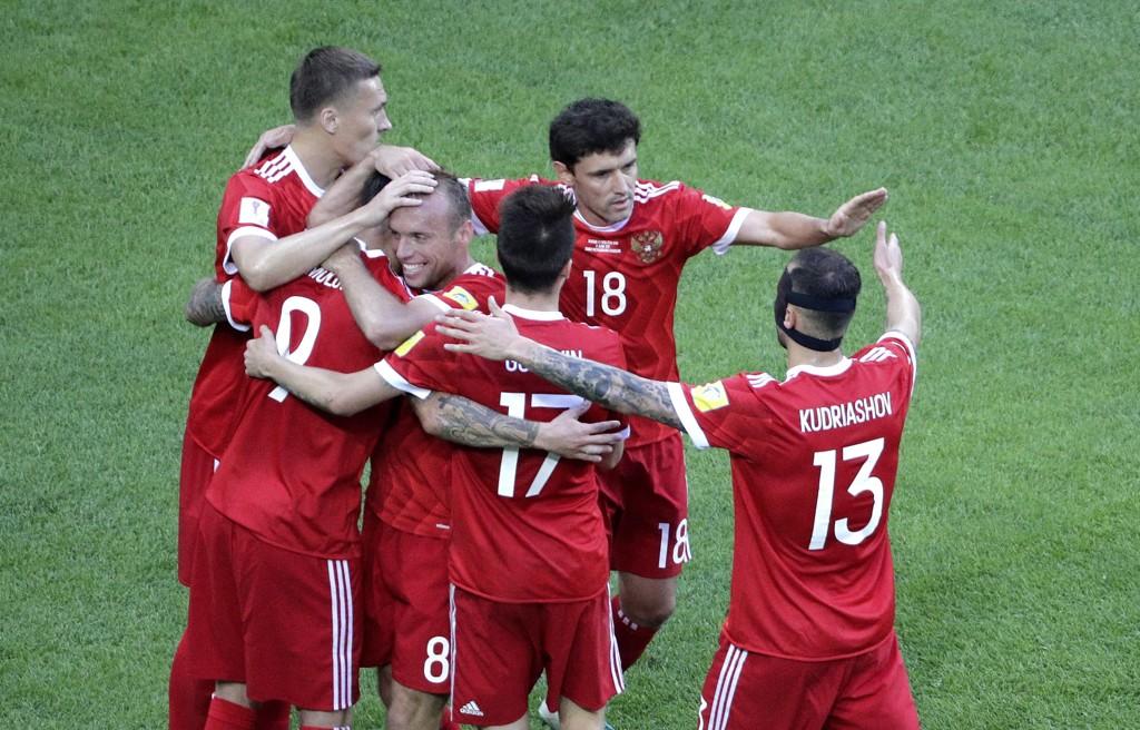 VANT: Russland hadde ingen problemer med å slå New Zealand.