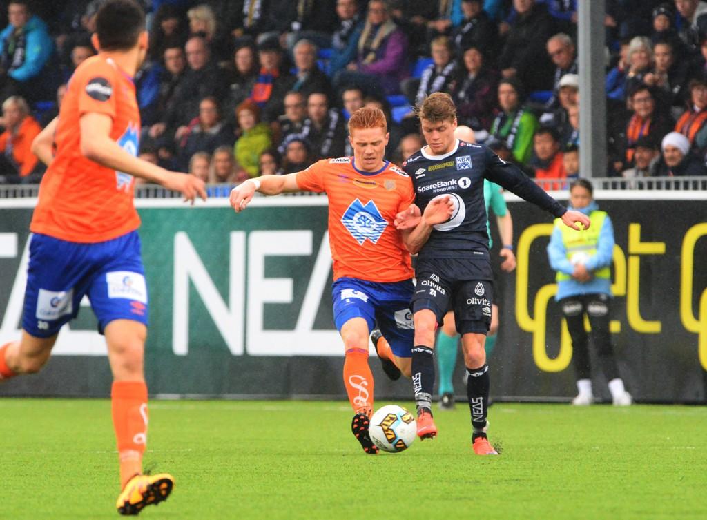 UAVGJORT: Kristiansund og Aalesund spilte 1-1 lørdag.