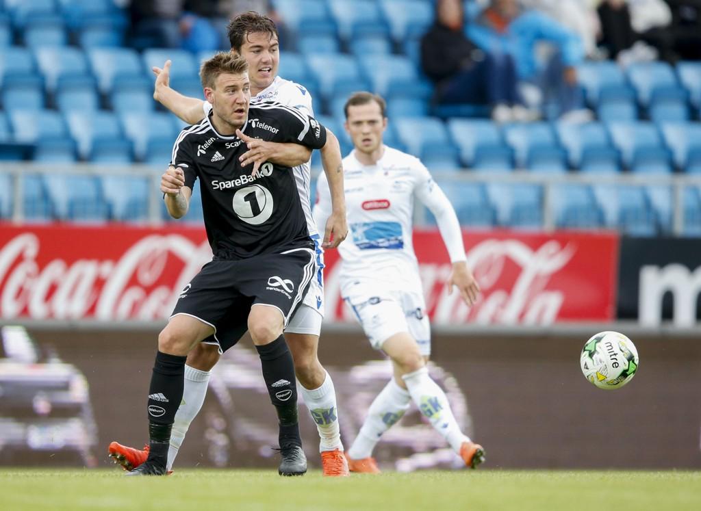 Skuffet Rosenborg Og Nicklas Bendtner Fikk Det Ikke Til Mot Haugesund