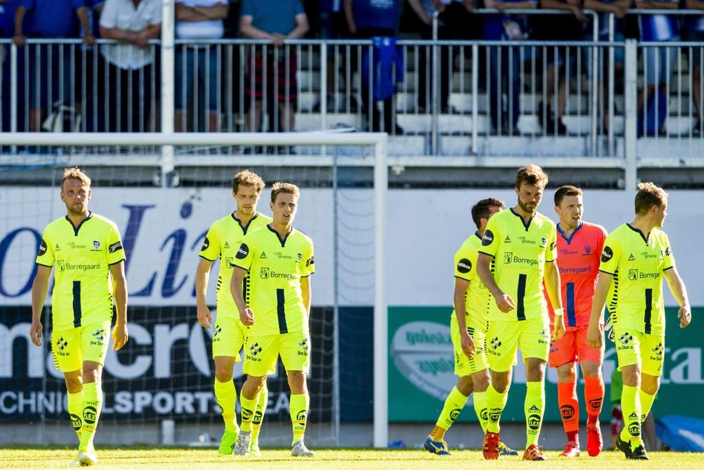 SKUFFET: Sarpsborg 08 tapte mot Sandefjord.