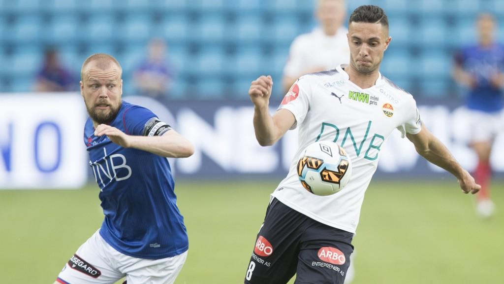 JEVNT: Christian Grindheim og Vålerenga måtte ta til takke med ett poeng mot Bassel Jradi og Strømsgodset.