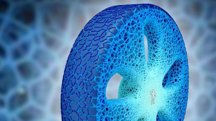 NYTT HJUL: Michelin har laget et helt nytt bilhjul som gjør det gamle dekket til steinalder-teknologi.