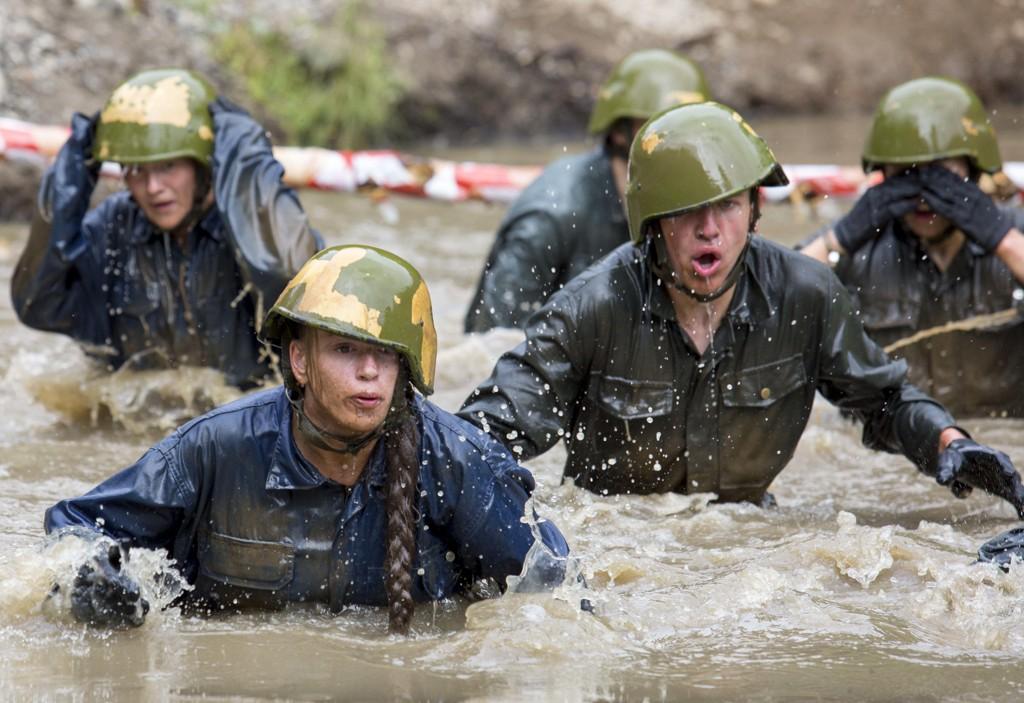 Utredningen om hvordan Hæren og Heimevernet bør se ut i fremtiden ble lagt fram mandag ettermiddag. Her fra opptaksprøver i Forsvaret.