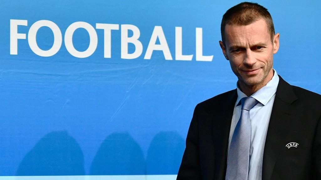 UEFA-PRESIDENT: Aleksander Ceferin er president i det europeiske fotballforbundet.