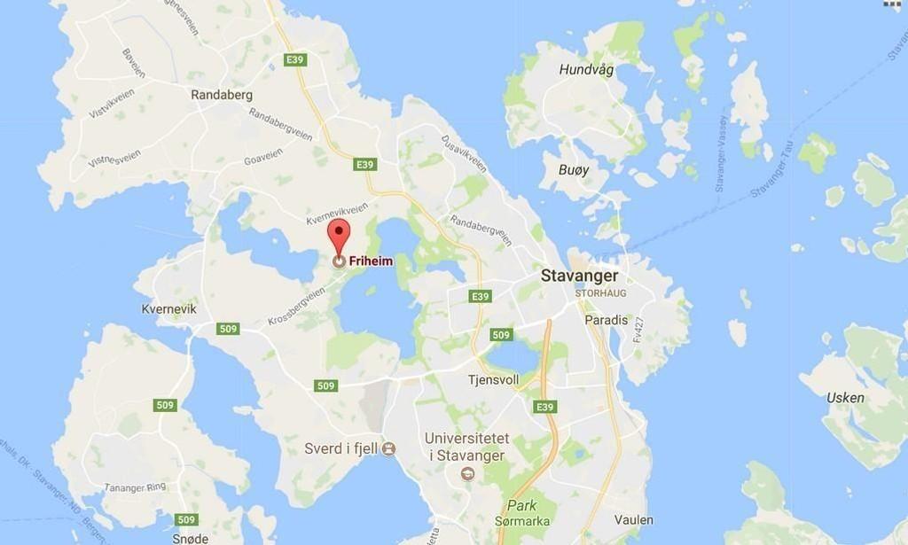 Friheim i Stavanger.