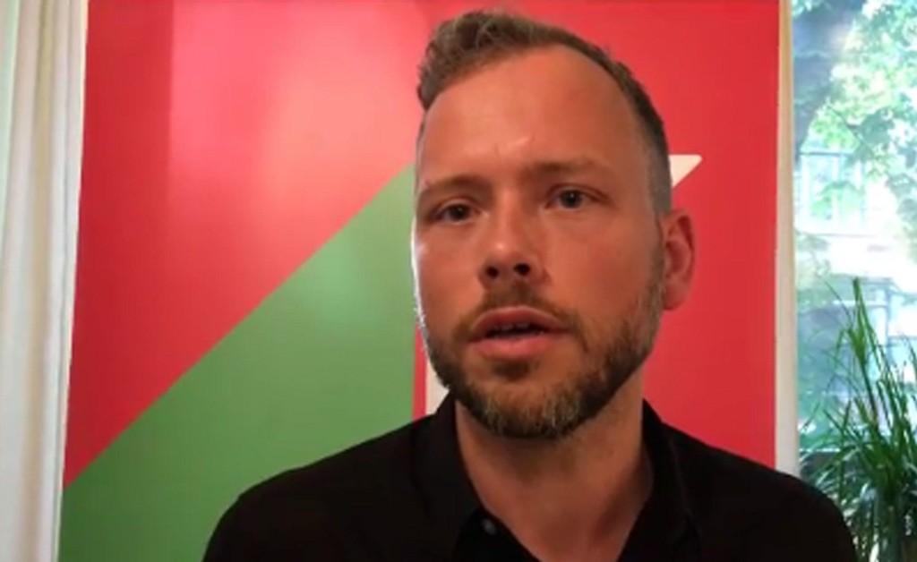 ANGRIPER: SV-leder Audun Lysbakken mener regjeringen øker forskjellene i Norge, og søker nå selv regjeringsmakt.