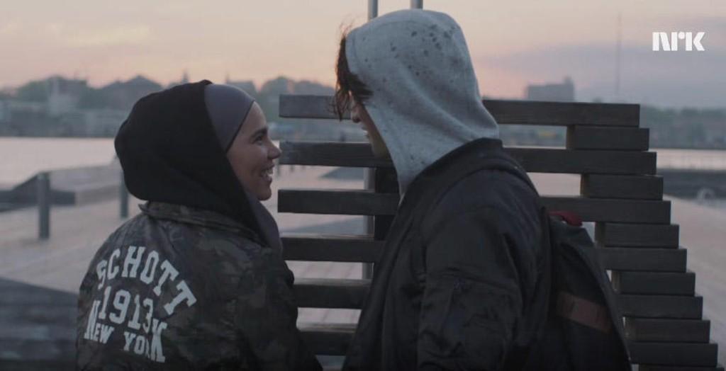 Sana og Yousef i sesong 4 av Skam. Denne uka går serien mot slutten (oh no).
