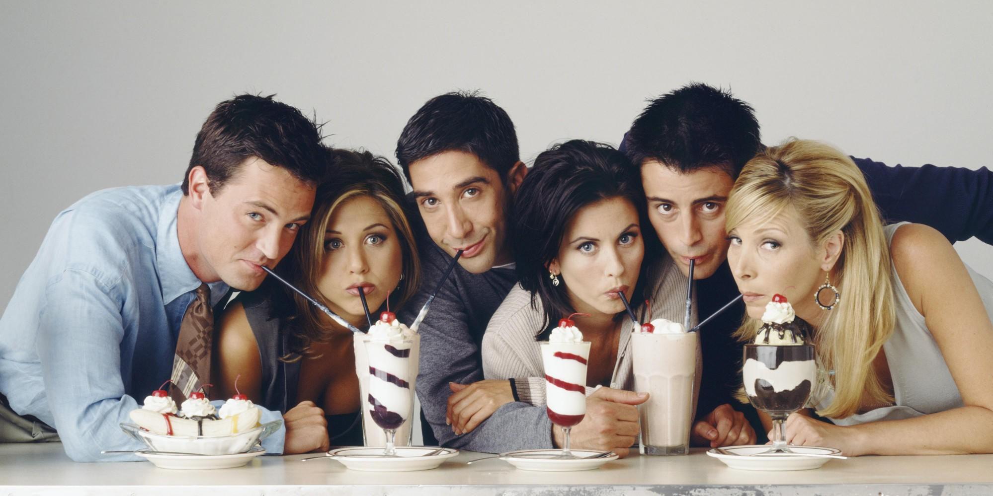 GODE GAMLE DAGER: Da siste episode av Friends ble sendt 6. mai 2004 i USA ble den sett av 52,5 millioner amerikanere. Det gjør episoden til den 5. mest sette serieavslutningen i TV-historien og den mest sette episoden på 2000-tallet.