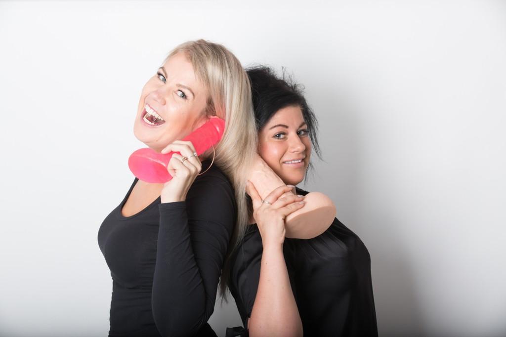 Maria K.Ebbestad og Sofie Jonsson kan sex og nytelse, både til hverdag og til fest.