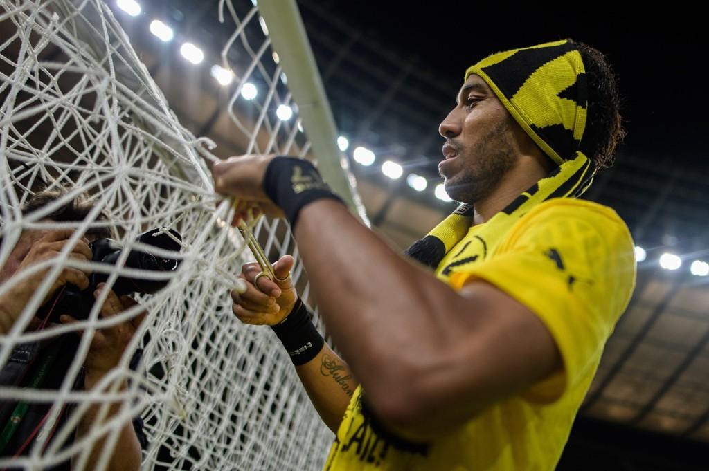 TILBUDT TIL CHELSEA: Pierre-Emerick Aubameyang skal ha blitt tilbudt til Chelsea, men londonklubben må ut med mye penger for Dortmund-spissen.