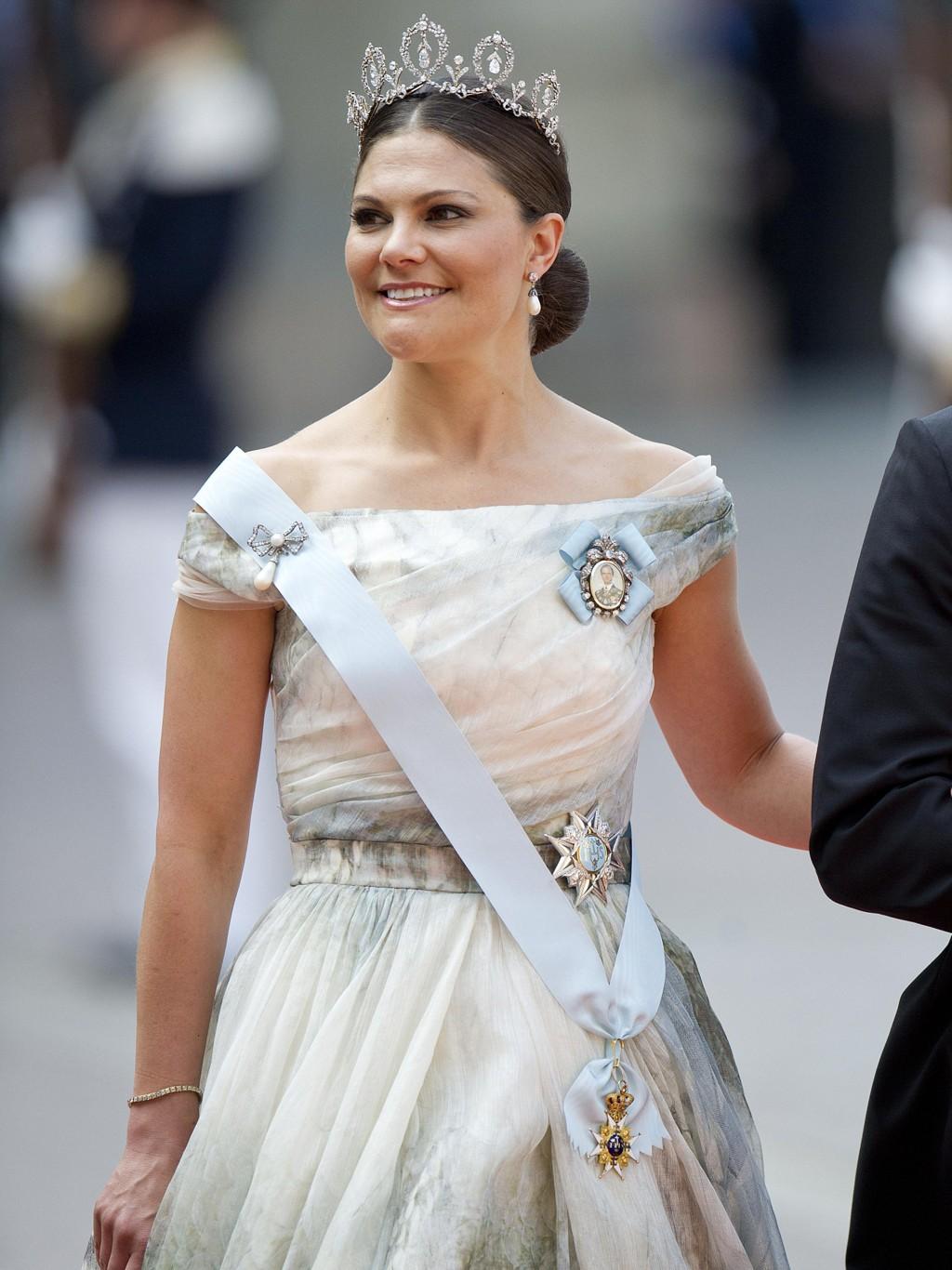 FØDSELSDAG: Kronprinsesse Victoria fyller 40 år fredag 14. juli.