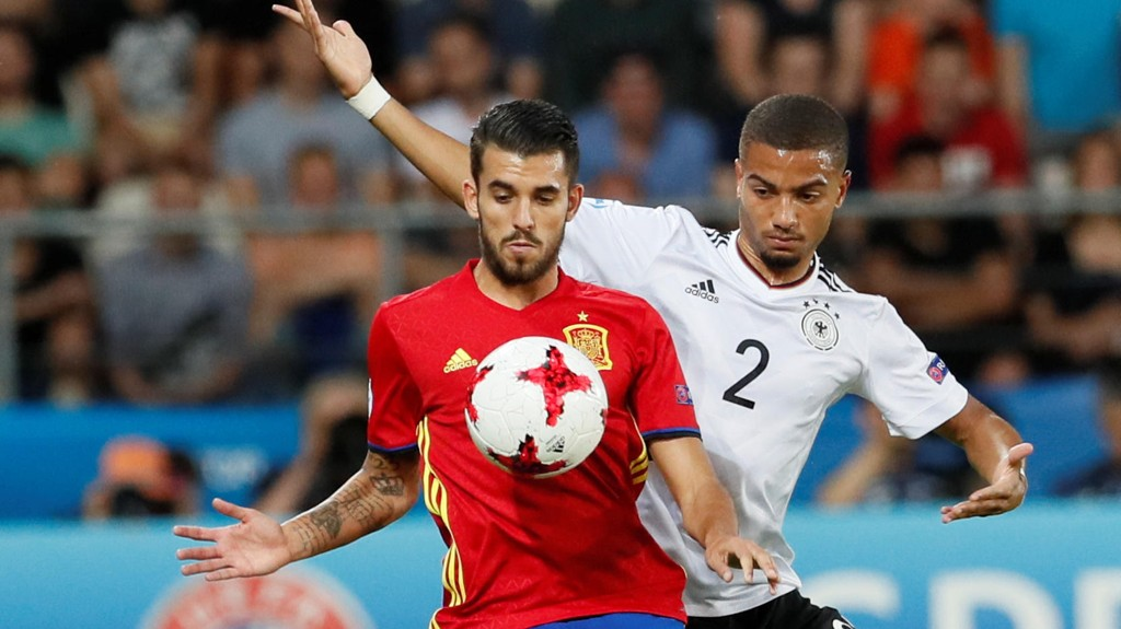 KLAR: Dani Ceballos har signert for Real Madrid.