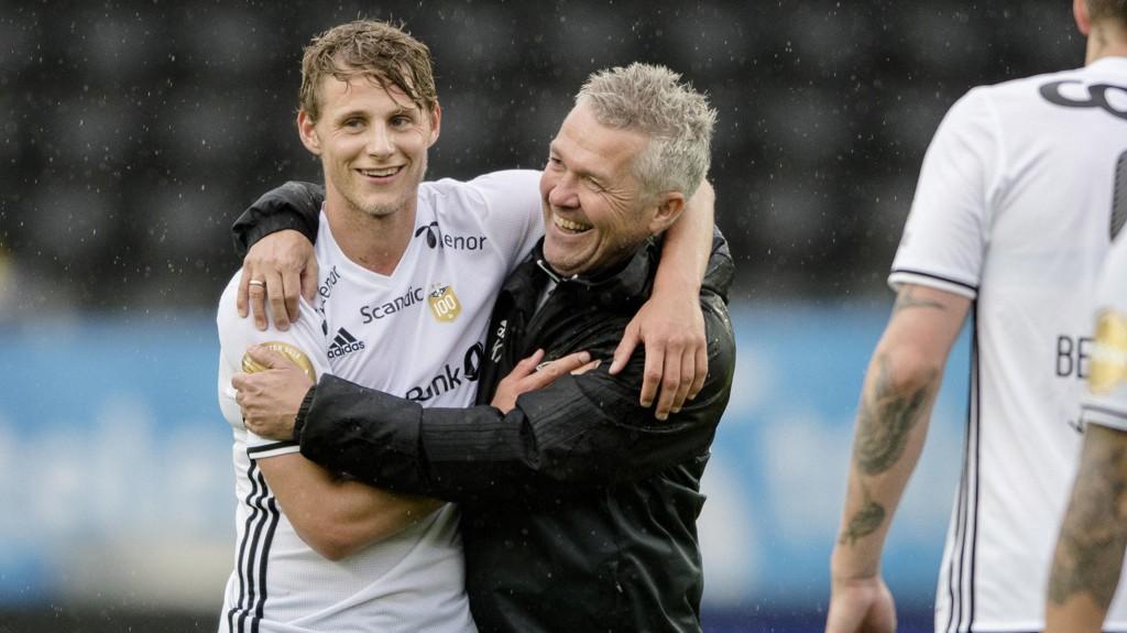 TØFF TRENKNING: Rosenborg kan møte Celtic.