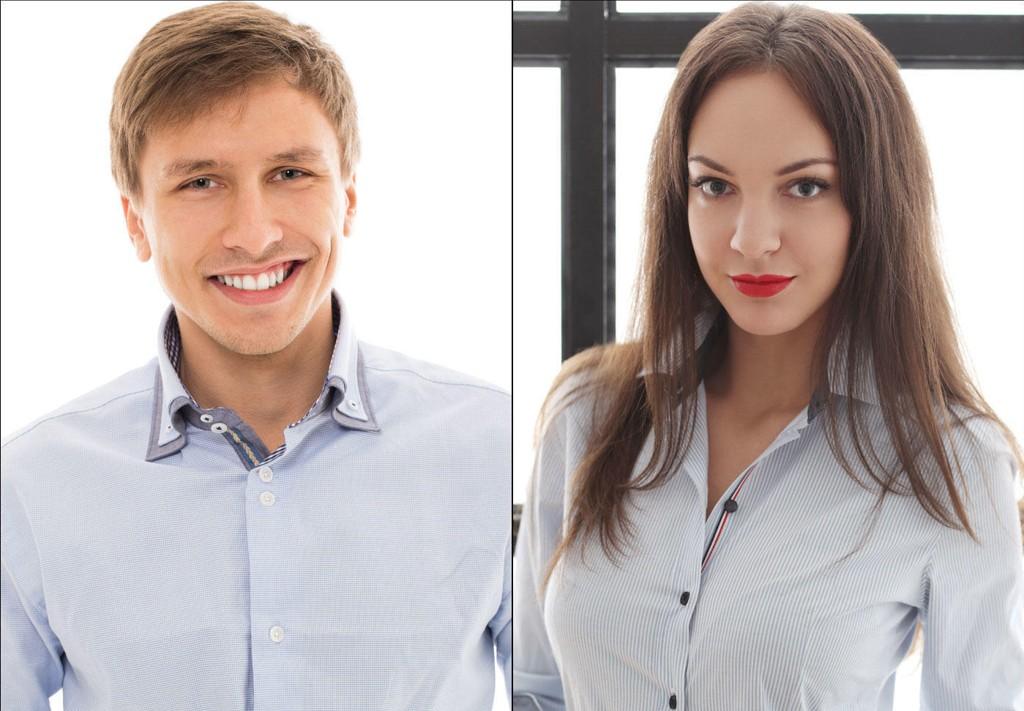 Menn har skjorteknappene på høyre side, mens kvinner har dem til venstre.