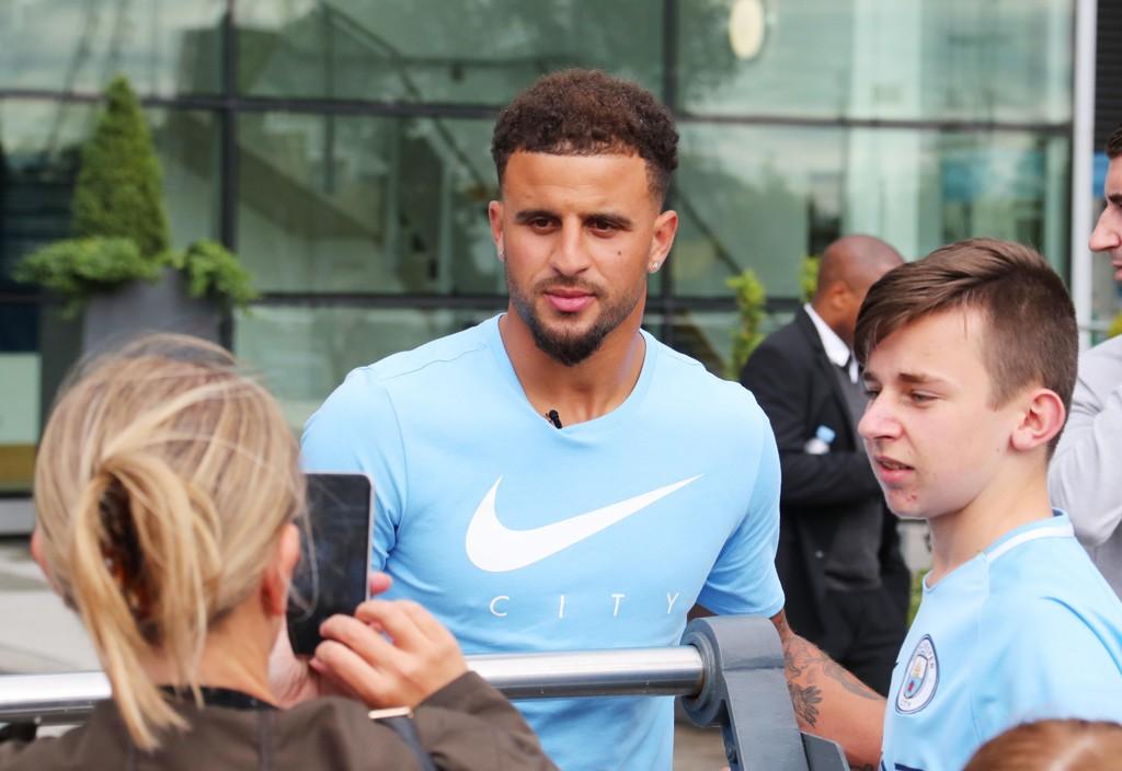 VERDENS DYRESTE: Da Kyle Walker ble solgt fra Tottenham til Manchester City, ble han verdens dyreste forsvarsspiller.