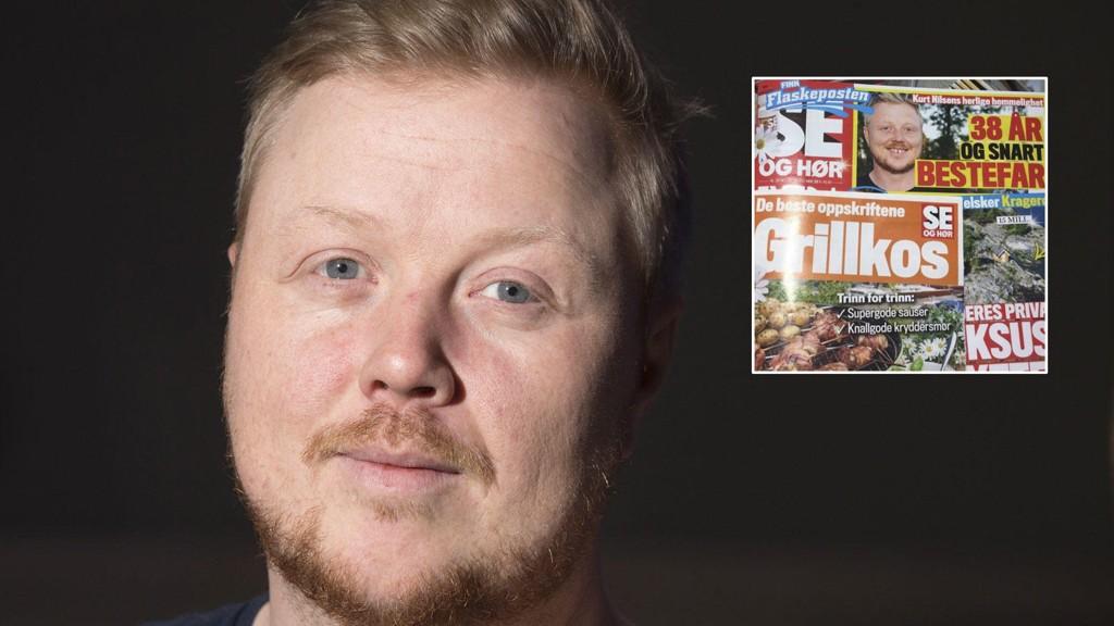 REAGERER: Kurt Nilsen er frustrert over Se og Hør.
