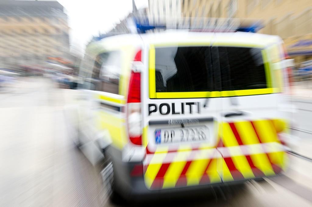 EN PERSON er pågrepet etter et masseslagsmål i Oslo.