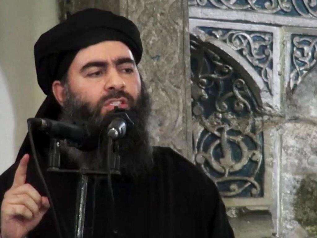 Irakisk etterretning avviser meldingene om at IS-lederen Abu Bakr al-Baghdadi er død og hevder at han befinner seg i Syria. Foto: AP / NTB scanpix