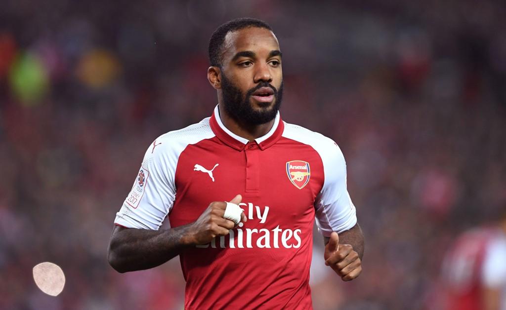 ARSENAL: Alexandre Lacazette har byttet ut Lyon med Arsenal.