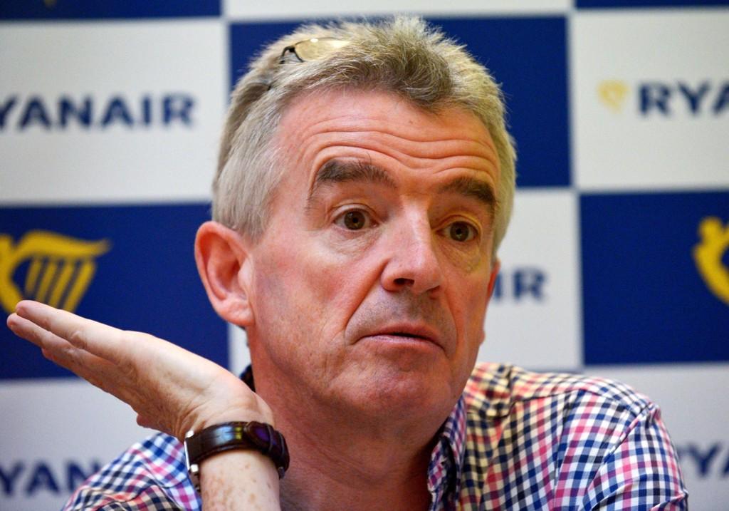 ÅPNER FOR NORWEGIAN-AVTALE: Michael O'Leary i Ryanair.