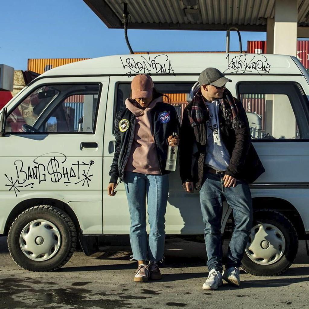 """Linda Vidala og KingSkurkOne er i ferd med å ta gatespråket i Oslo inn på hitlistene med """"Bængshot""""."""
