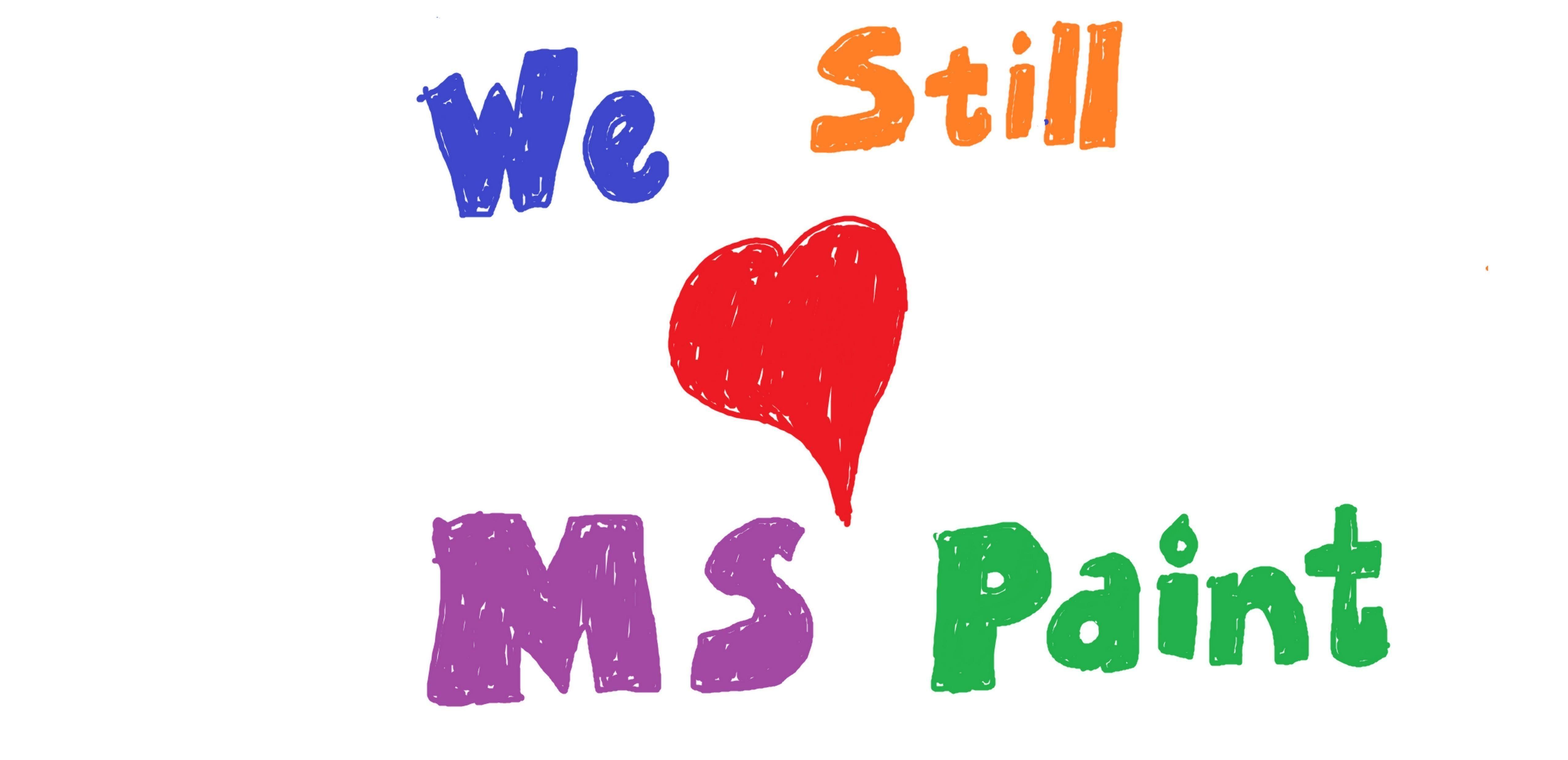 BEHOLDES: MS Paint skal videreutvikles, lover Microsoft.