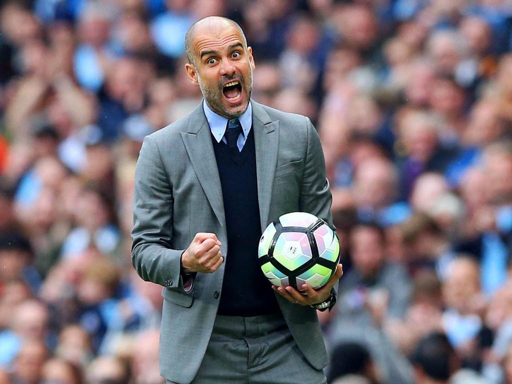 TITTELFEIRING I SIKTE? Manchester City og manager Pep Guardiola kan ha store ting på gang. Det er i alle fall lite å si på viljen til å svi av store pengesummer til forsterkninger.