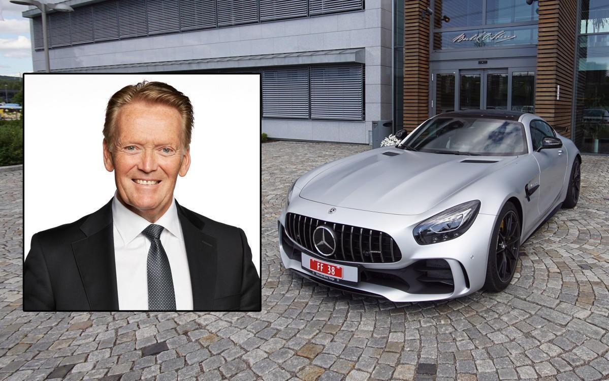 Konsernsjef Bjørn Maarud i Bertel O. Steen, som blant annet importerer Mercedes til Norge, mottok en solid utbetaling i fjor.